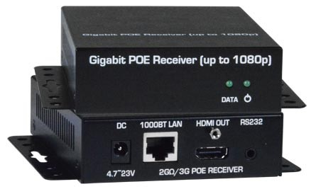 HDMI Over IP Extender CAT5 2G remote display Gigabit Ethernet