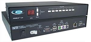 KVM switch via CAT5, user station
