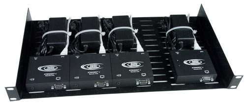 General Purpose 1RU Rack Tray with NTI Extenders