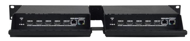 HDMI Quad Screen Splitter Multiviewer 1080p 4-Channel Video Mixer